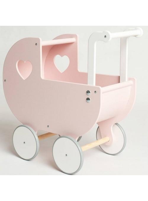 DREWNIANY wózek z budką +...