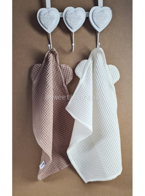Ręcznik do rączek z uszkami