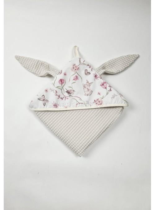 Ręcznik wafelkowy KRÓLICZKI