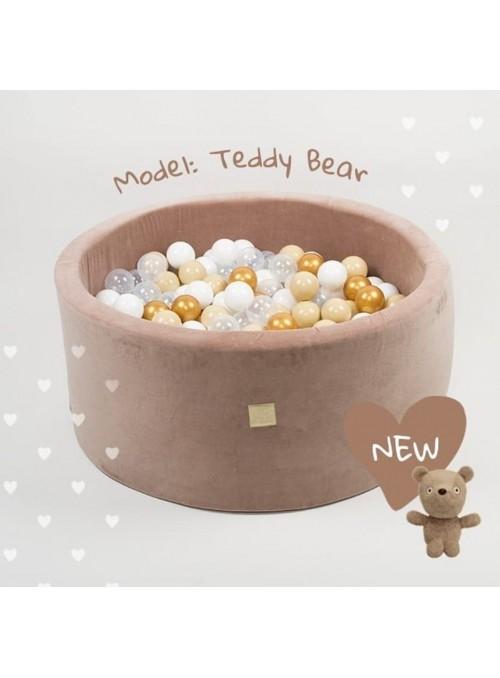 Basen VELVET TEDDY BEAR -...