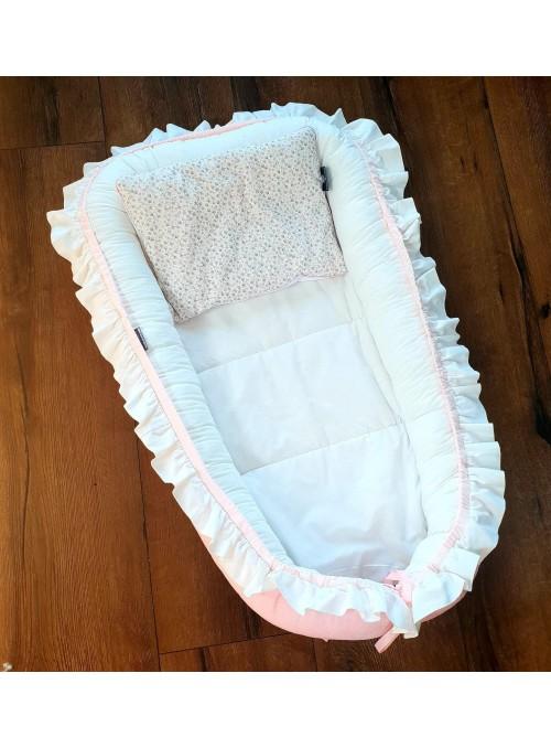 Kokon niemowlęcy biało...