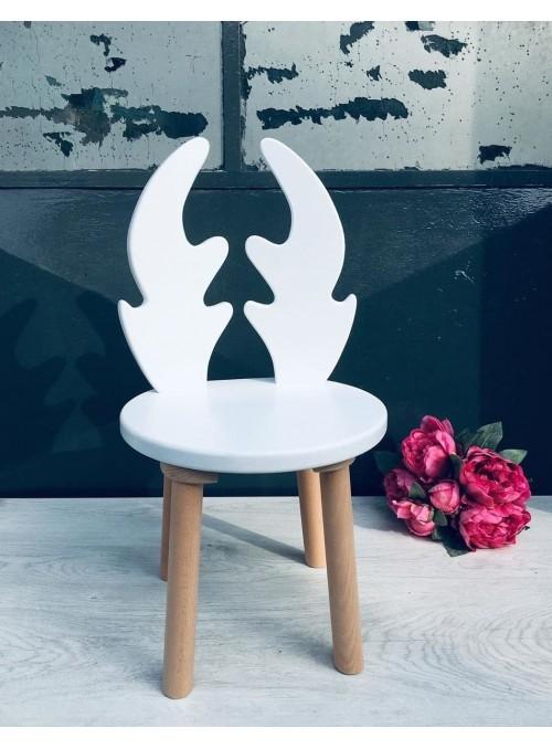 Drewniane krzesełko RENIFER...